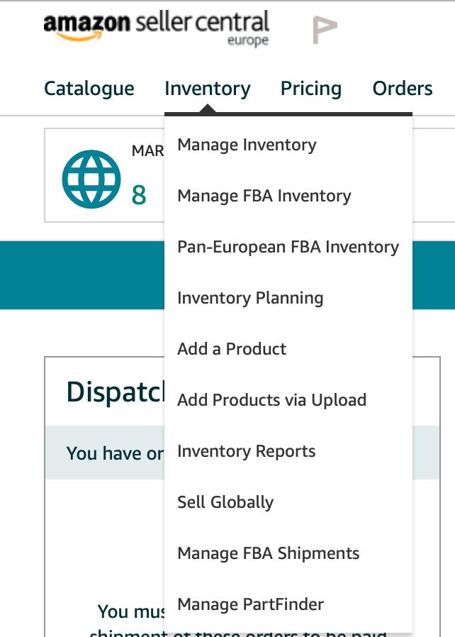 internationaal verkopen amazon
