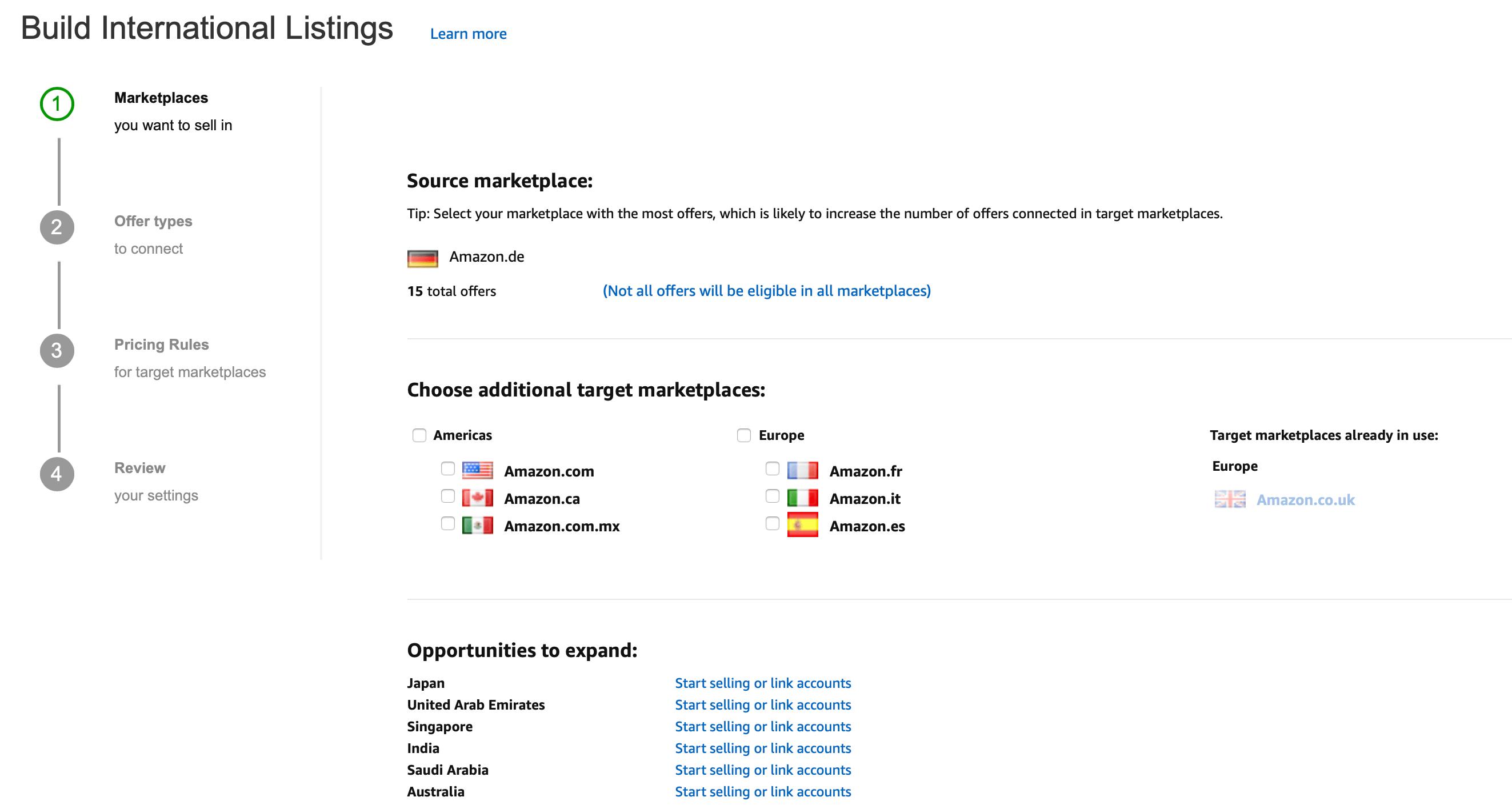 source marketplace amazon